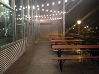 Outdoor space at UCBC