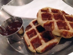 Leige waffles at UCBC