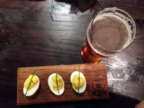 Deviled egg at UCBC