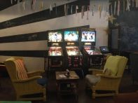 Pinball machines at Melt