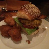 Ground brisket burger